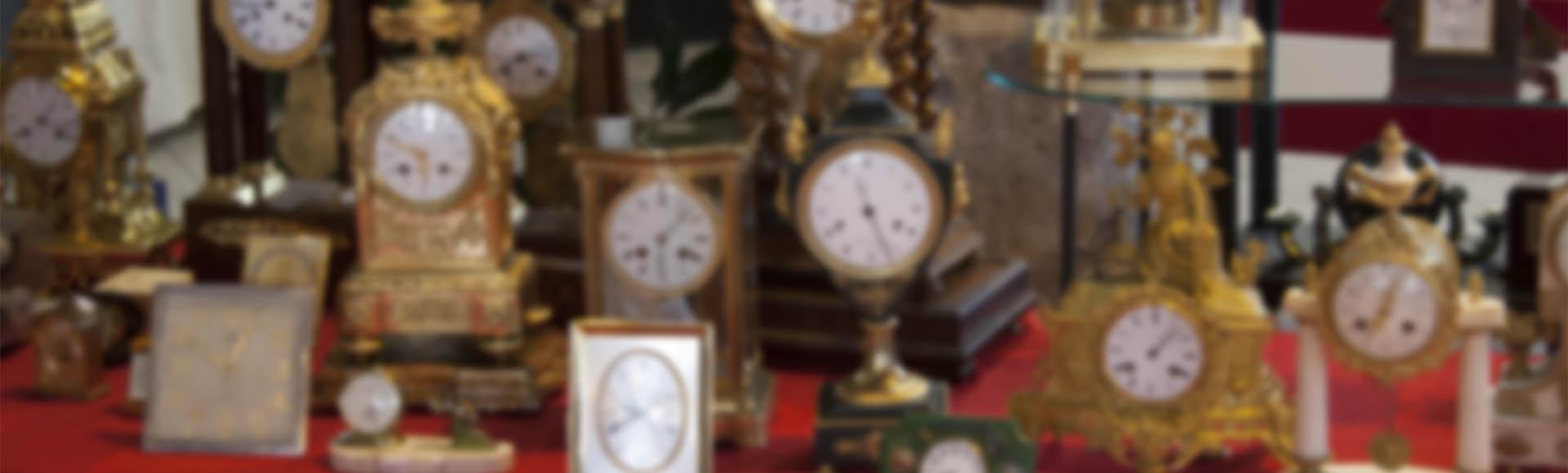 Des horloges