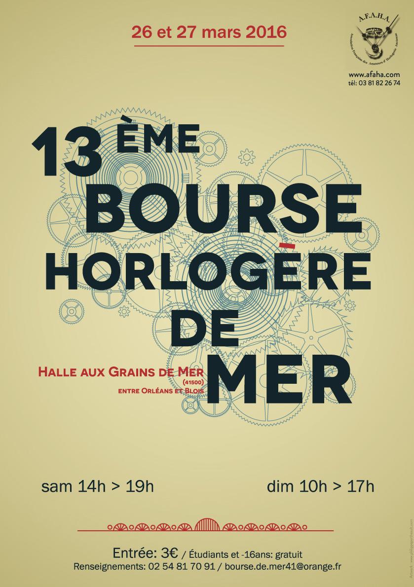 13ème Bourse Horlogère de Mer (2016)