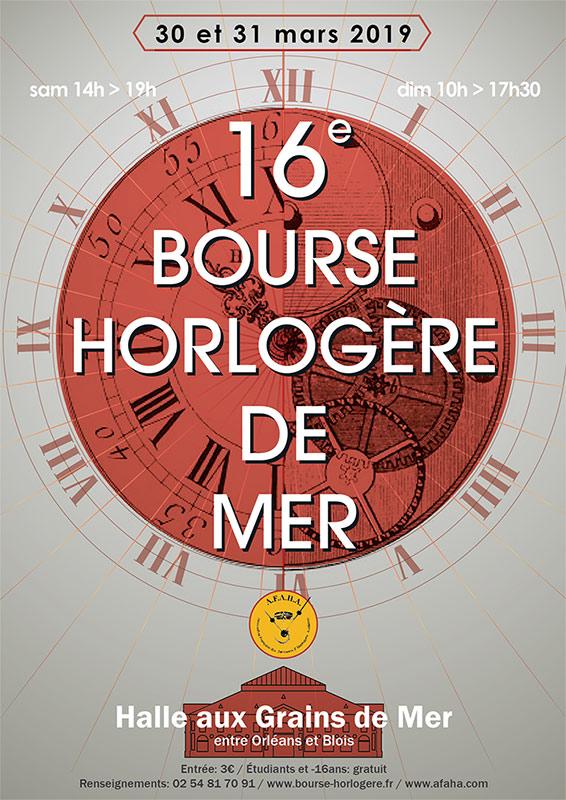 1ère rencontre Horlogère MMPM de l'année 2019 le mercredi 30 Janvier 2019 Affiche-2019-bis
